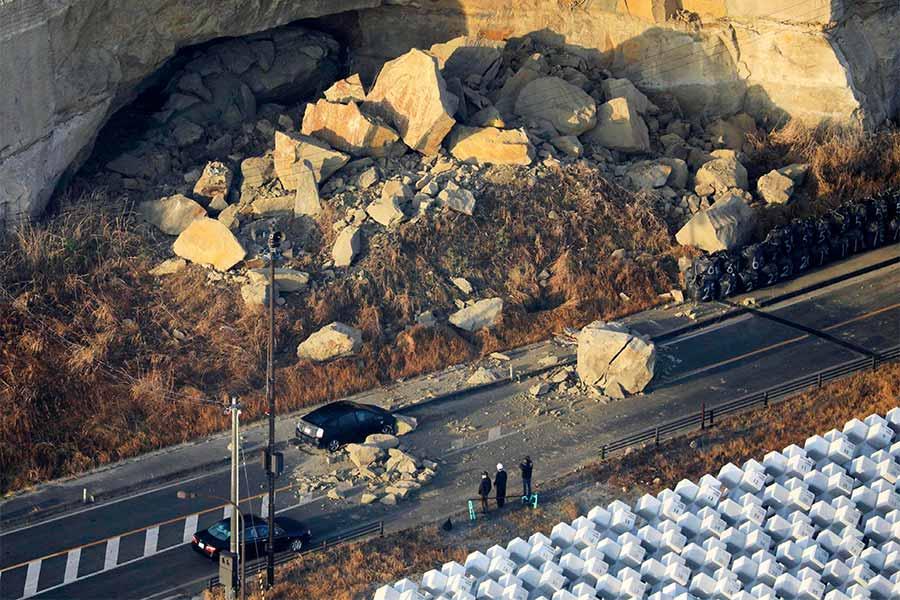জাপানের ফুকুশিমায় ৭.১ মাত্রার ভূমিকম্প